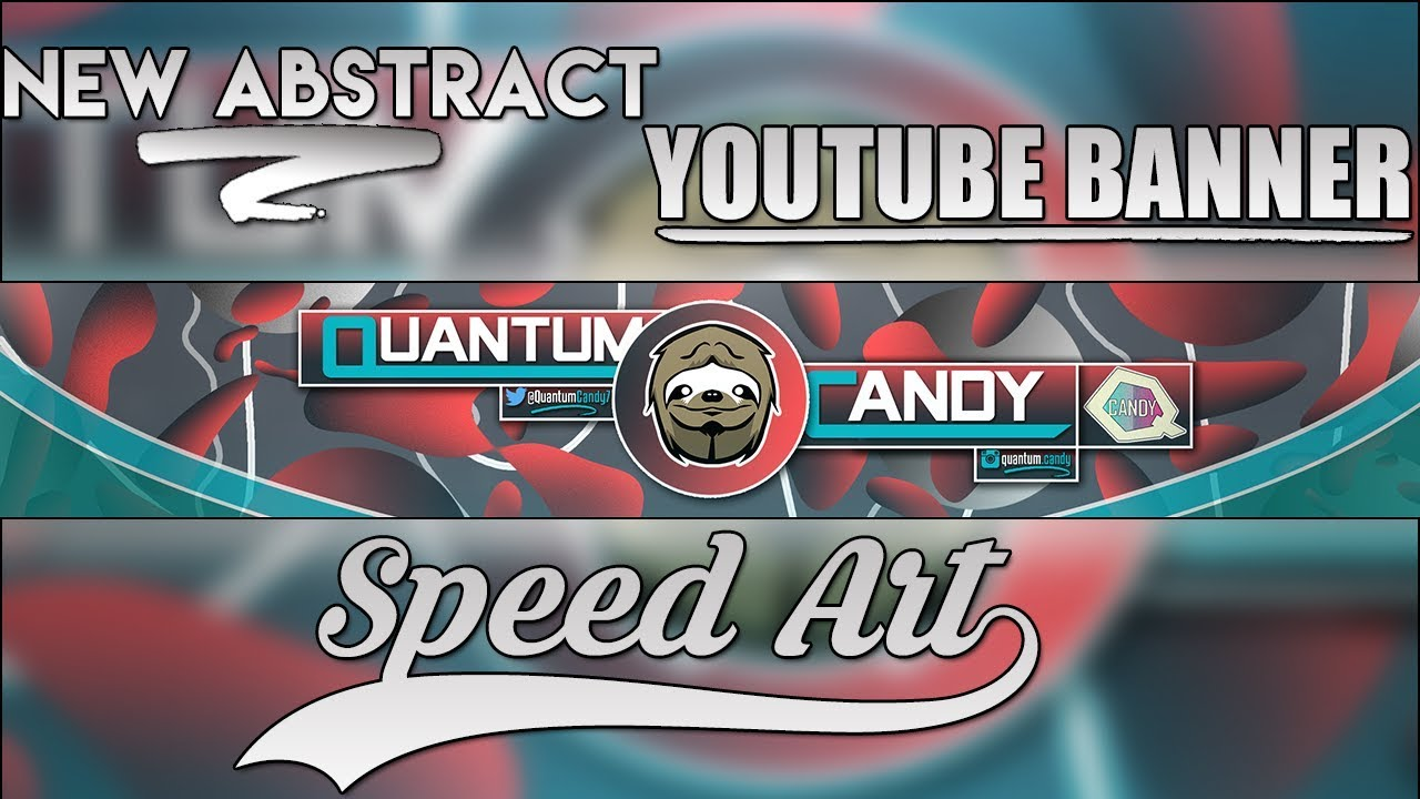My New Abstract YouTube Banner