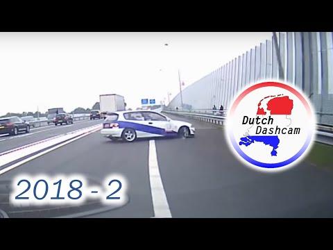 Dashcam compilatie Nederland 2018 #9