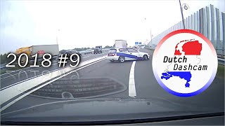 Dashcam compilation Netherlands 2018 #9