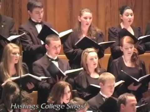 Brahms: Die Mainacht (The Hastings College Choir)