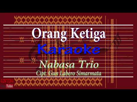 KARAOKE BATAK/ Nabasa Trio Orang Ketiga