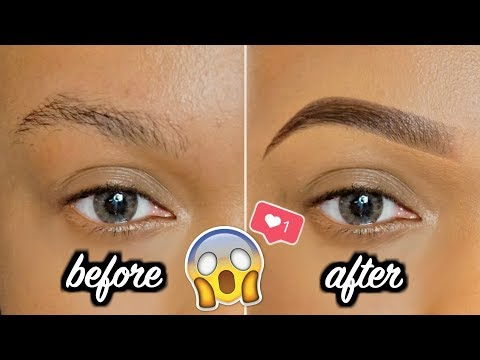 UPDATED Perfect Eyebrows Tutorial | Revealing My Secrets for FULL/NATURAL Brows STEP BY STEP! thumbnail