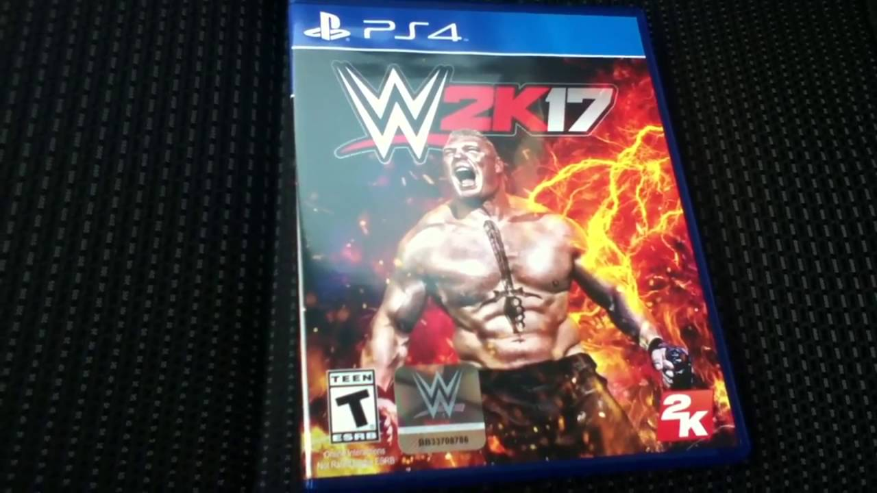 WWE 2K17 UNBOXING! (PS4)