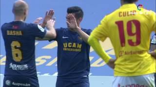 Resumen de UCAM Murcia vs RCD Mallorca (1-1)