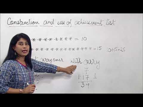 502 Construction and use of achievement test