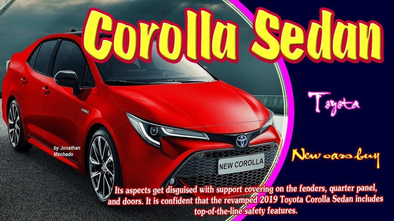 2019 Toyota Corolla Sedan 2019 Toyota Corolla Altis Sedan 2019