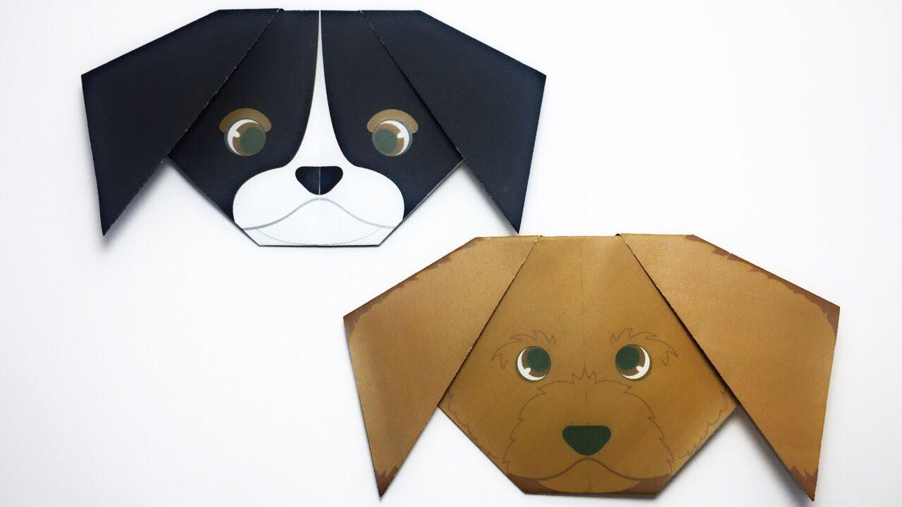 оригами щенок старшая группа фото объект