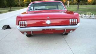 1966 MUSTANG COUPE 289/271HP K-CODE HIGH QUALITY classic gas and auto cleves oh dan pfaffinger