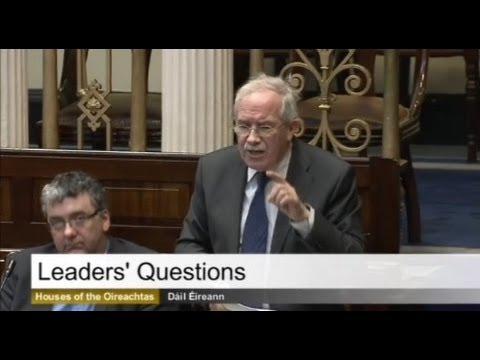 Seamus Healy TD - Leader's Questions 25.03.2014 - Overcrowding A&E South Tipperary General Hospital