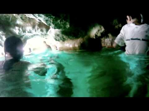 GoPro Underwater at Venetian pool cave