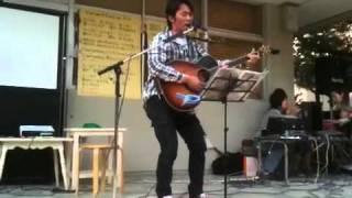 作詞作曲歌:山本重成 2011年4月29日 第4回アースデイうゆきちまつり.