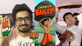 Chota Bheem of Indian Politics - Rahul Gandhi | Oye Velle