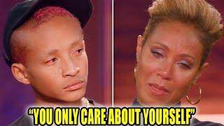 Jaden Smith Confronts Mom Jada Pinkett Smith AGAIN On Red Table Talk
