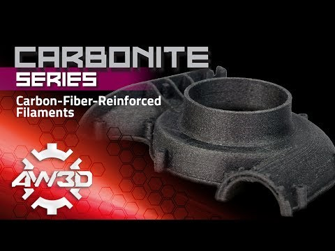 CARBONITE Series: Carbon-Fiber-Reinforced Filaments by Airwolf 3D