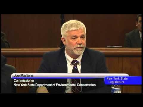 Senator Gipson Q&A with Joe Martens, NYS Dept. of Environmental Conservation -02/05/13
