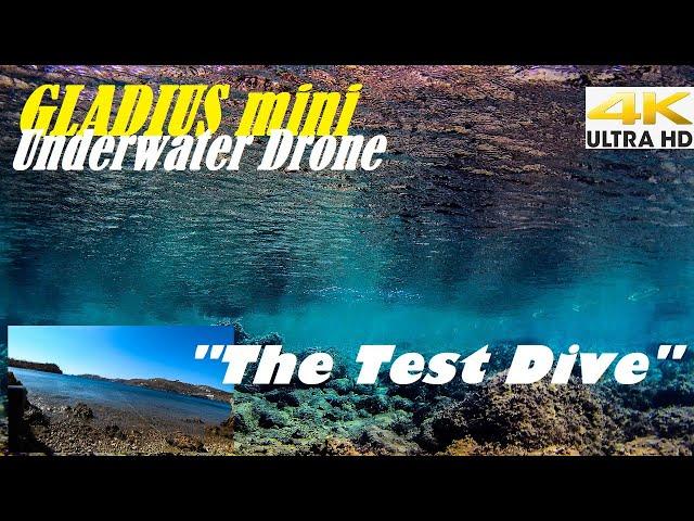 Spearfishing 🇬🇷 |🎮 Gladius Mini Underwater Drone Part 2/3🌊The Test Dive [4Κ]✅