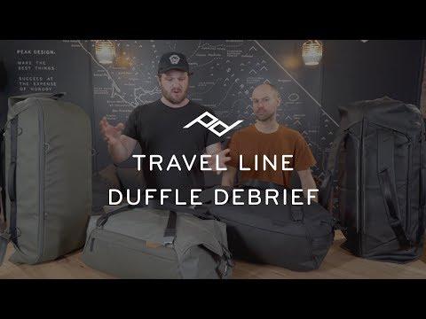 Travel Duffel et Duffelpack : les sacs de voyage selon Peak Design