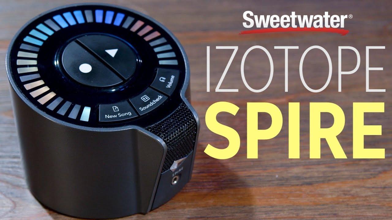 iZotope Spire Studio Audio Interface Demo