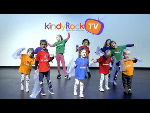 Jiggle Your Scarf. Exercise songs for preschoolers and toddler