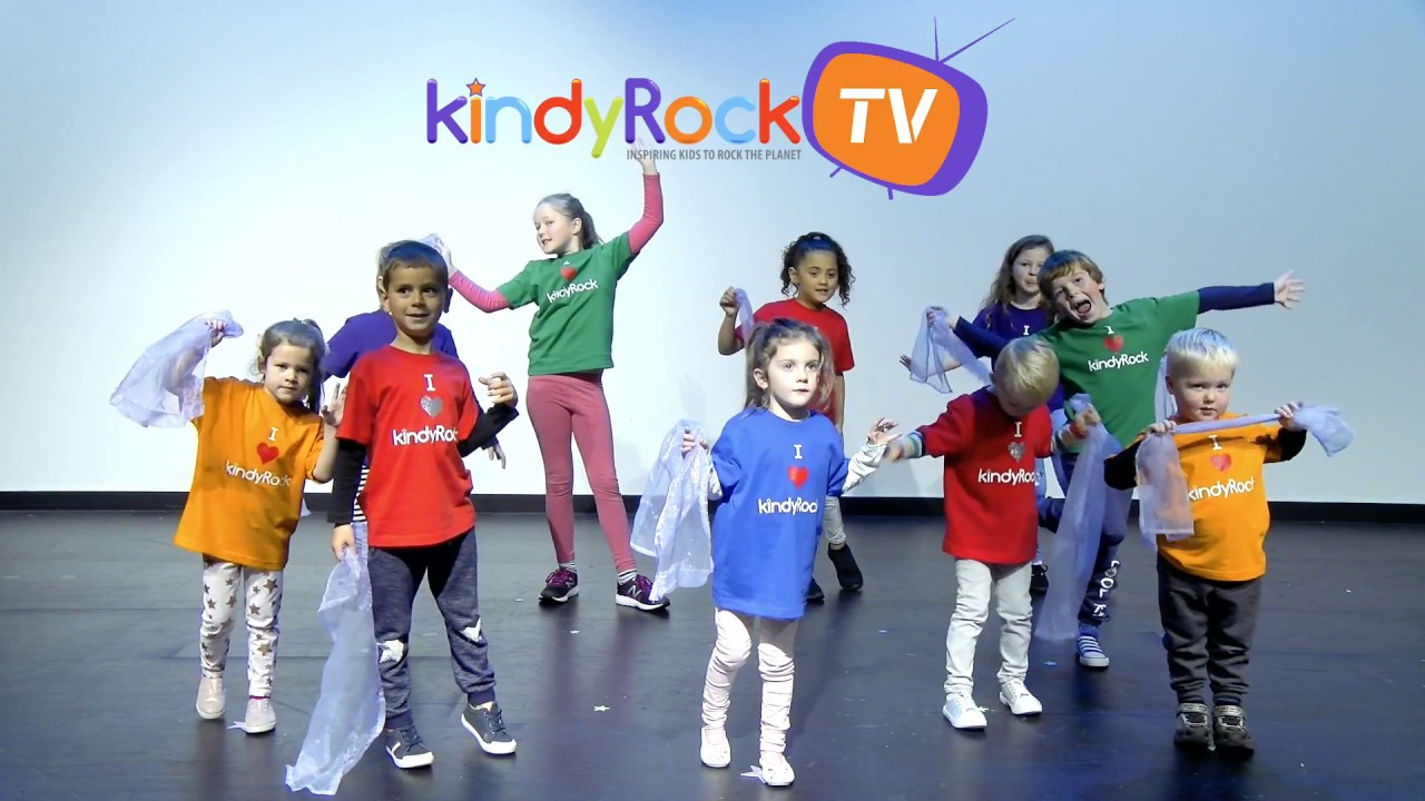 Jiggle Your Scarf Exercise Songs For Preschoolers And Toddler Official Music Video Youtube