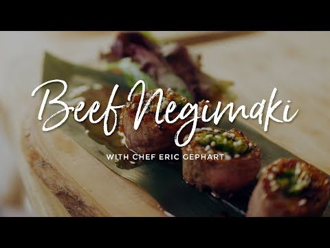 Beef Negimaki on the Kamado Joe Classic II