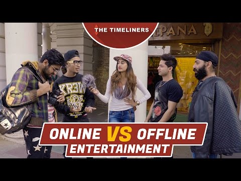 Online vs Offline Entertainment | The Timeliners