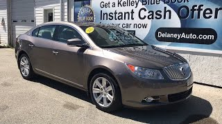 2012 Buick LaCrosse Pittsburgh, Greensburg, Altoona, Johnstown, Kittanning, PA 36626