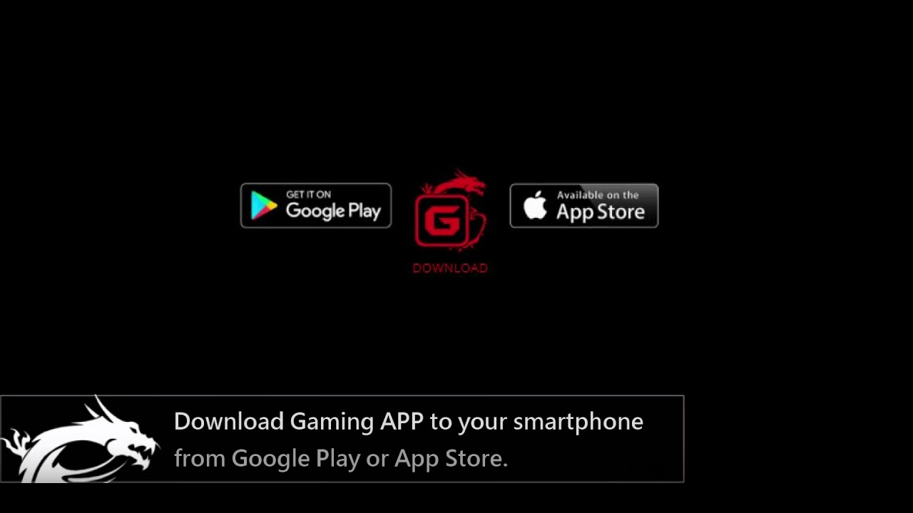 MSI® HOW-TO Control Gaming APP with your smartphone