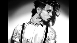 Andy Black Speed Painting