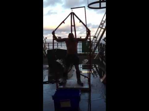 The Ryster's ice bucket challenge offshore scaffolder  #scaffolder #offshore