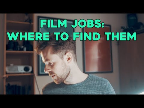 Film jobs: where to find them