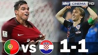 Portugal vs Croatia 1 1   All Goals Highlights 06 09 2018 HD