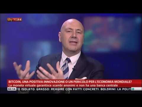 Sky TG24 Economia Parla del Bitcoin