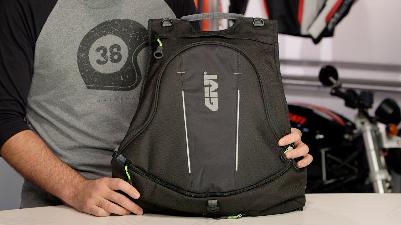 ff1af19421a Givi EA104 Easy Range Backpack at RevZilla.com - YouTube