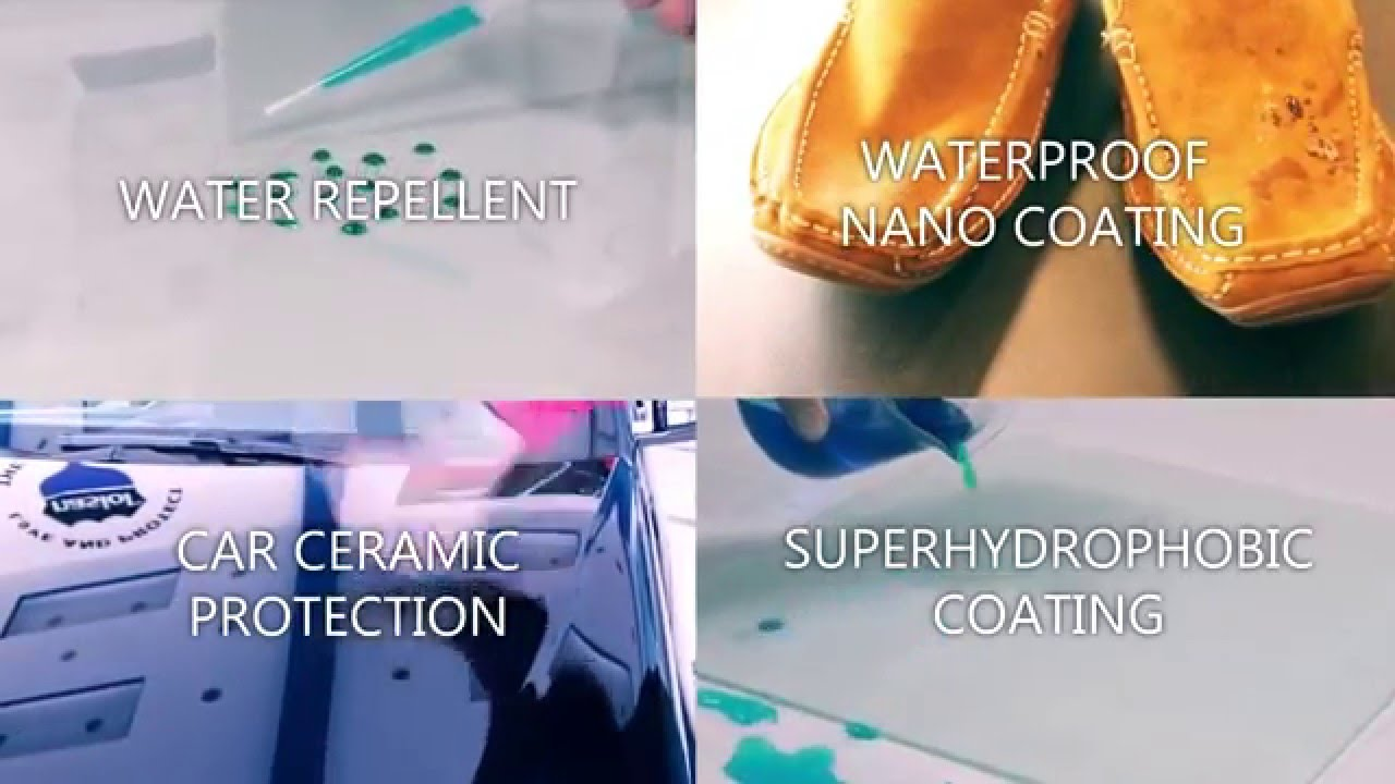 Hydrophobic coating with own hands