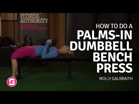 Bench Press - How To Do Palm In Dumbbell Bench Press
