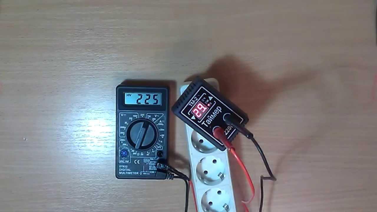 схема простого реле времени для вентилятора