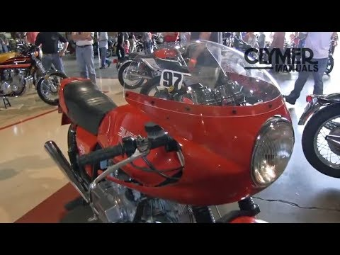 Clymer Manuals Ducati Darmah SD900 Vintage Classic Motorcycle Cafe Racer Video