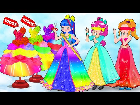 Princess Dress Up Contest!  Fashion Dress Design Result with Friends by SM