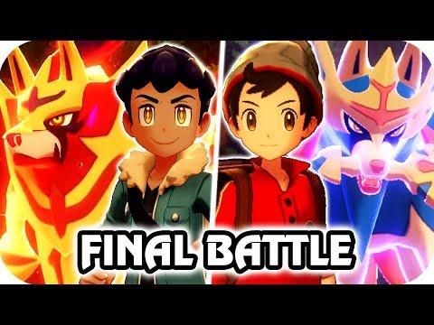 Pokémon Sword & Shield : Hop Final Battle (Zacian Vs Zamazenta) |