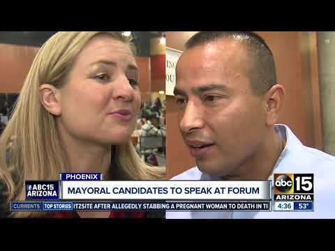 Phoenix mayoral candidates to speak at forum