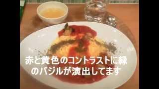 美味しいランチ 仙台 チキンのトマトソースオムライス たまご舎 杜の市場店 907円