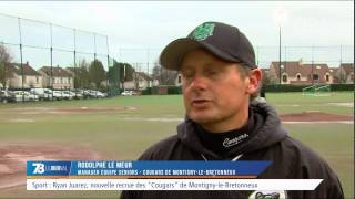 """Sport : Ryan Juarez, nouvelle recrue des """"Cougars"""" de Montigny-le-Bretonneux"""