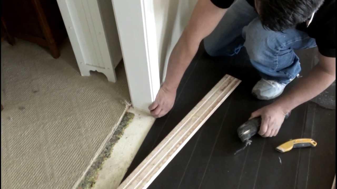 Como instalar pisos de madera solida youtube - Como poner un suelo de madera ...