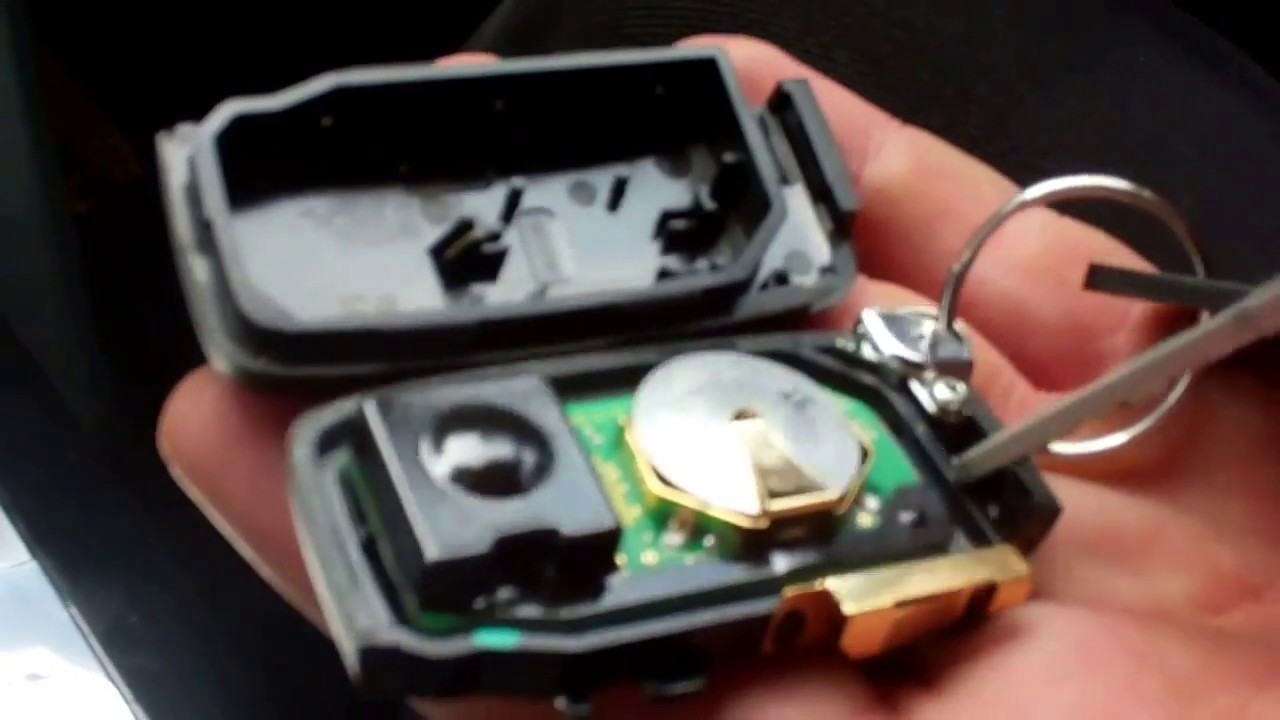 How to replace the smart key battery in a Range Rover L405