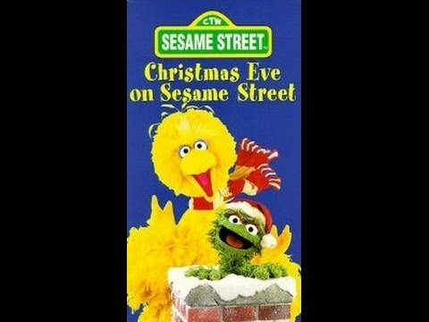 Opening To Christmas Eve On Sesame Street 1996 VHS - YouTube