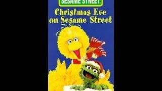 Opening To Christmas Eve On Sesame Street 1996 VHS