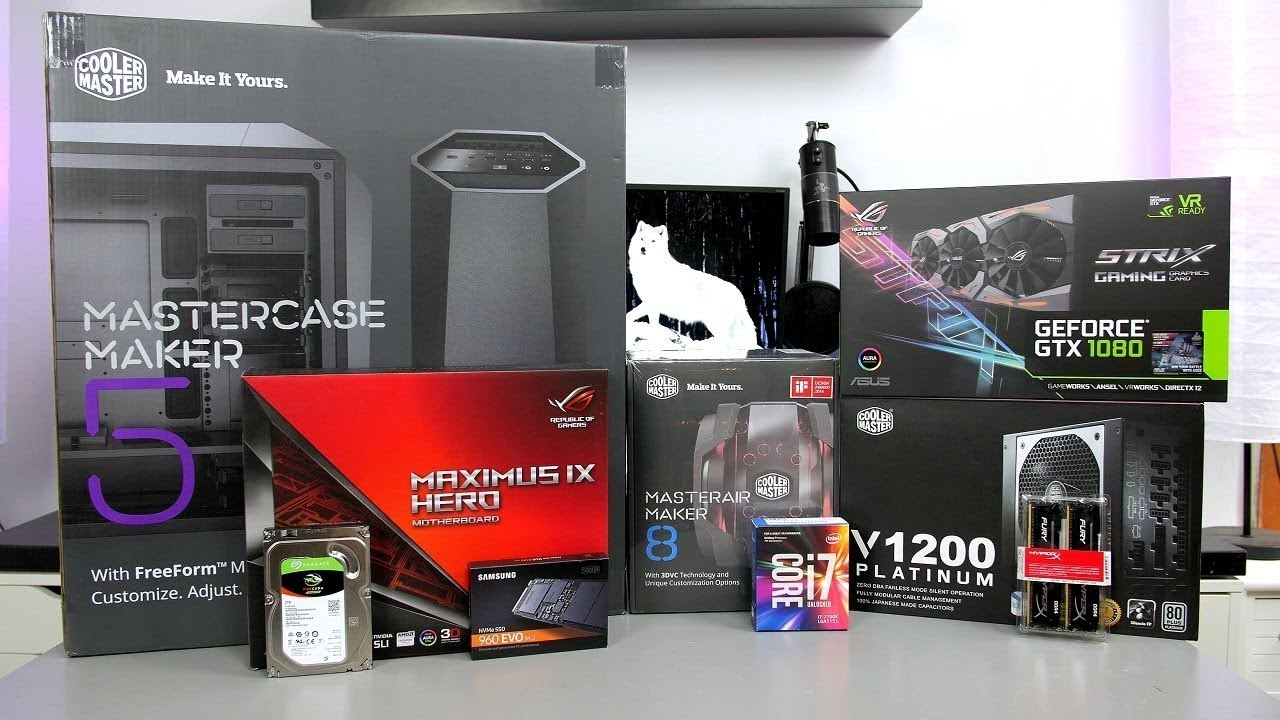 how to build a high end gaming pc 7700k gtx 1080 unilad. Black Bedroom Furniture Sets. Home Design Ideas