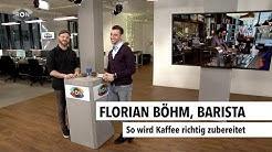 Florian Böhm, Barista | RON TV |
