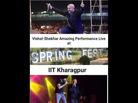 Vishal-Shekhar _Dewangee #IITKGP Spring Fest 2017 Live